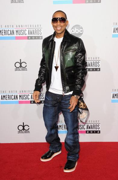 Ludacris arrives on the 2012 American Music Awards red carpet.