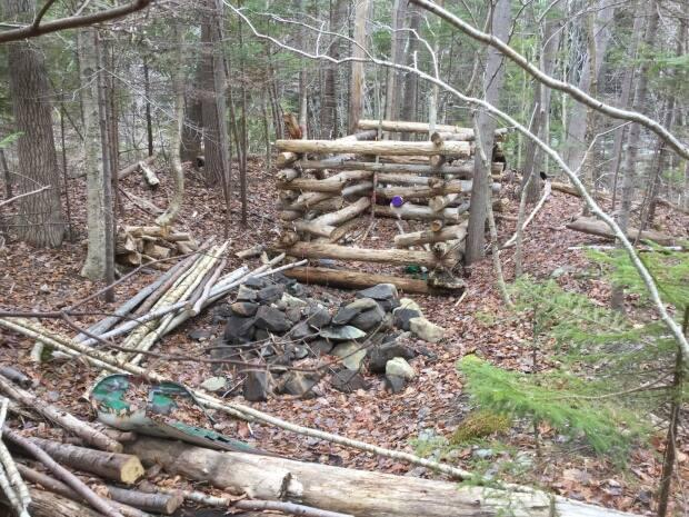 This was the camp where Snake lived for 11 months until he moved into a rooming house in Halifax.