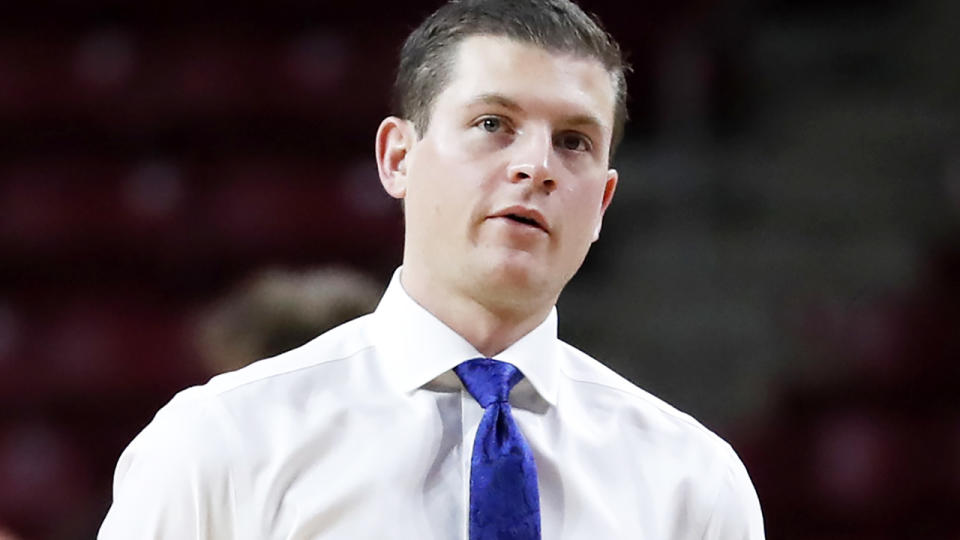 Ford Stuen, pictured here during a game between Boston College and St Louis in 2019.