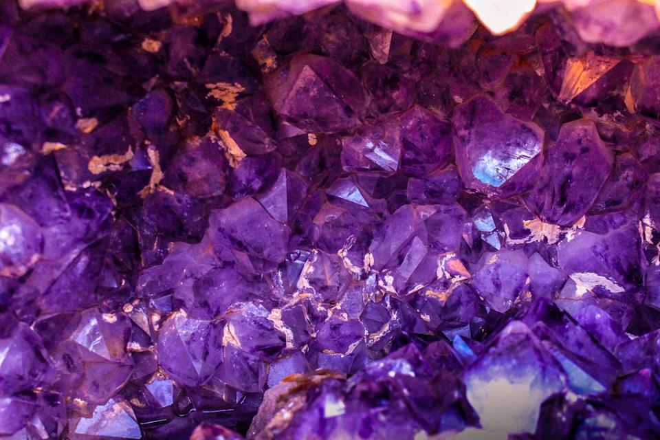 """<p>A Sagittarius can feel even more friendly, funny, honest, and spontaneous when wearing their power color: purple! <a href=""""https://www.colorpsychology.org/purple/"""" class=""""link rapid-noclick-resp"""" rel=""""nofollow noopener"""" target=""""_blank"""" data-ylk=""""slk:This color is known for luxury"""">This color is known for luxury</a>, nobility, wisdom, dignity, grace, mysticism, and calm, so surround yourself with purple to feel more positive, open, and social.</p>"""