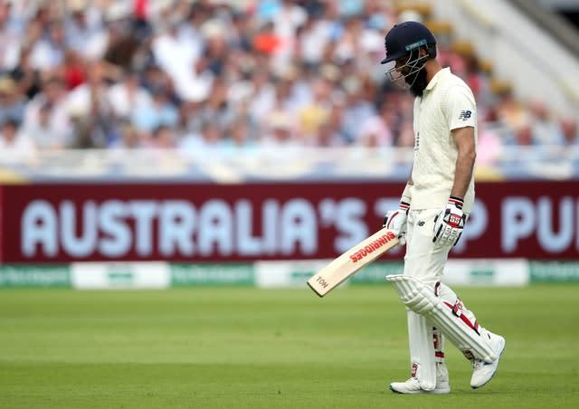 Moeen Ali continues his sabbatical from Test cricket (Nick Potts/PA)