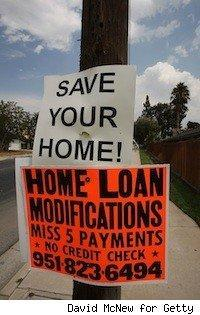 sign with 'Save your Home' for loan modifications
