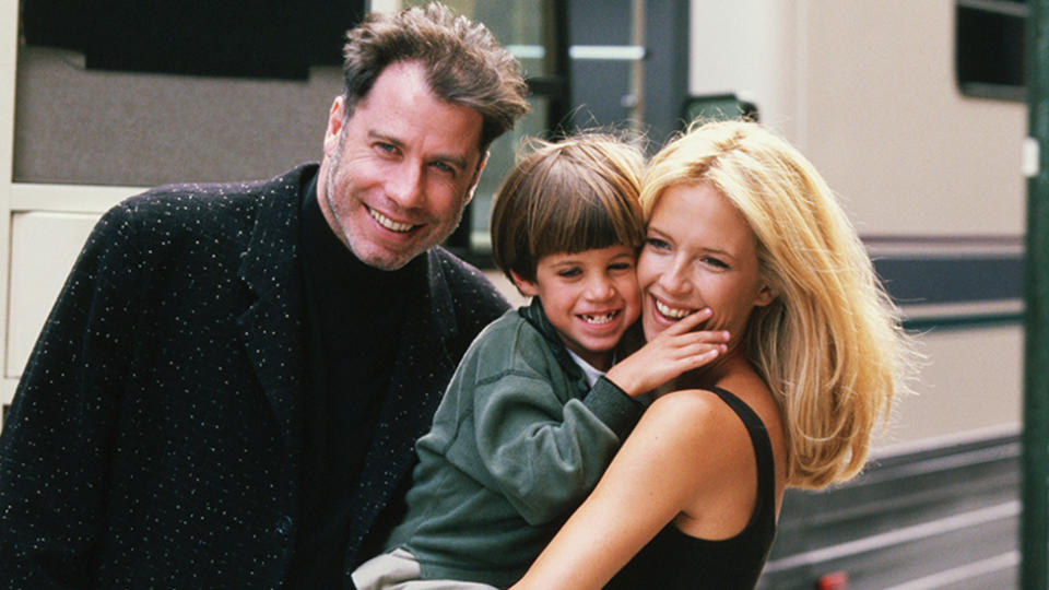 John Travolta and Kelly Preston lost their son Jett in 2008. Photo: Getty Images