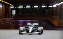 No light at the end of the qualifying tunnel for fourth row occupant Hamilton