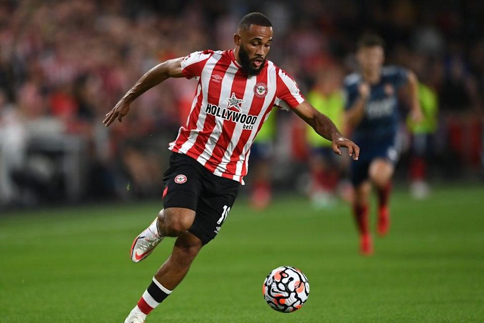 Bryan Mbeumo has started the season impressively for Brentford  (Getty Images)