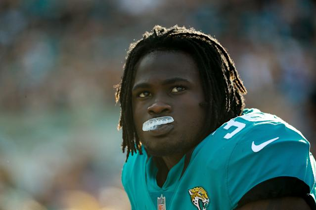 Nick Saban all but named Jacksonville Jaguars safety Ronnie Harrison as a player whose decision he disagreed with. (Getty)
