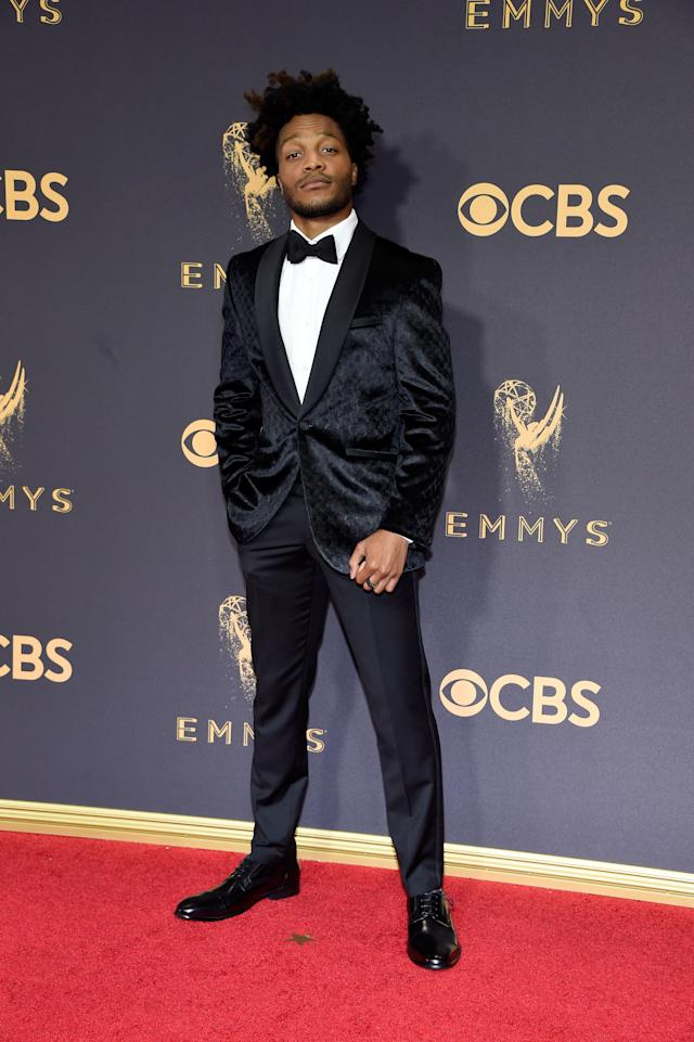 <p>Jermaine Fowler attends the 69th Primetime Emmy Awards on Sept. 17, 2017.<br> (Photo: Getty Images) </p>