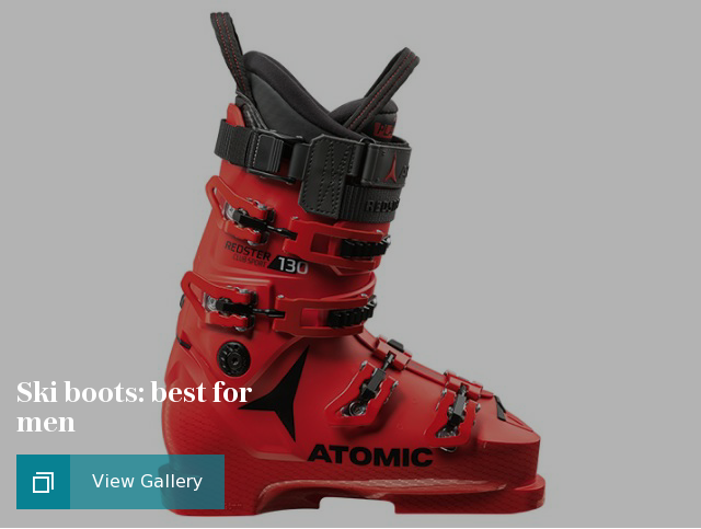 Ski boots: best for men