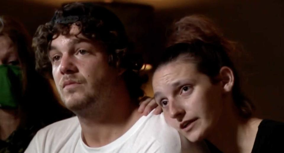 Matthew Rigney and Danielle Hall are pictured.