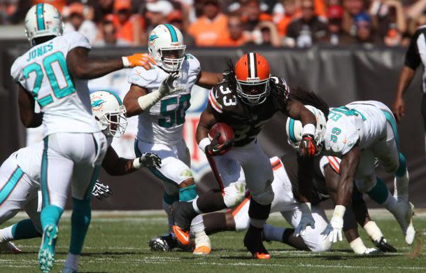 Trent Richardson learned about trade from Browns to Colts on the radio