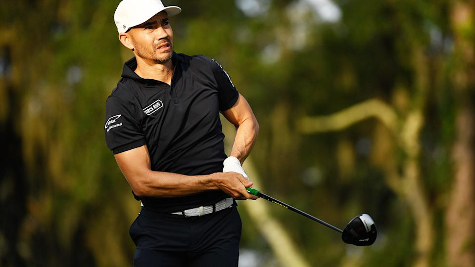 Camilo Villegas, pictured here in action at TPC Sawgrass in June.