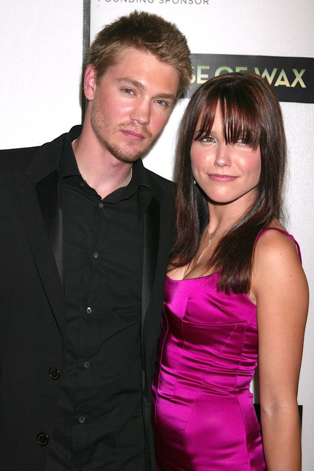 Chad Michael Murray and Sophia Bush at the <em>House of Wax</em> premiere in April 2005. (Photo: Getty Images)