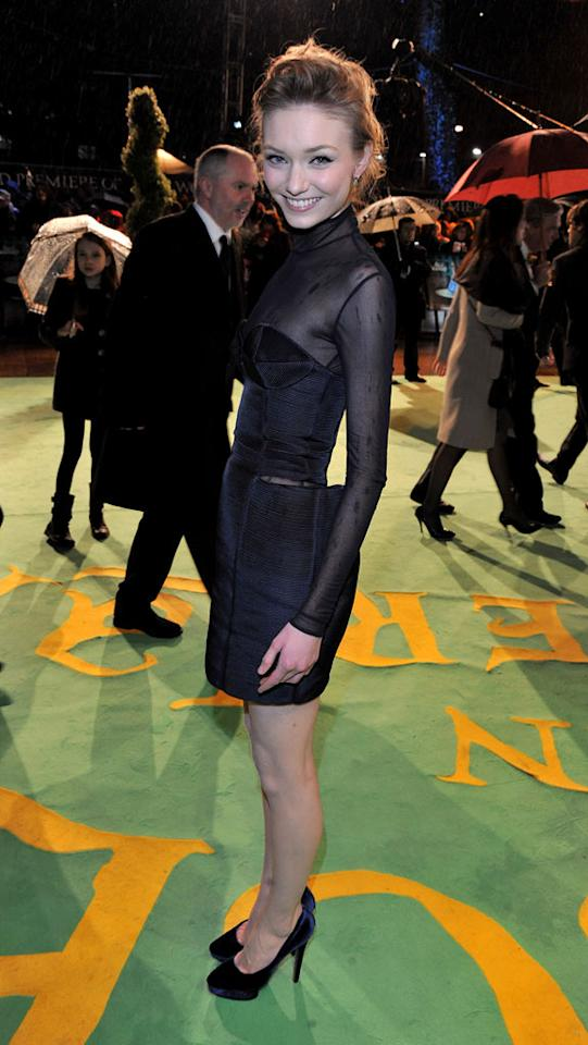 """<a href=""""http://movies.yahoo.com/movie/contributor/1809687525"""">Eleanor Tomlinson</a> at the London premiere of <a href=""""http://movies.yahoo.com/movie/1810078365/info"""">Alice in Wonderland</a> - 02/25/2010"""