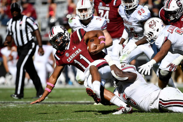 McIlwain was a four-star recruit in the class of 2016. (Getty)