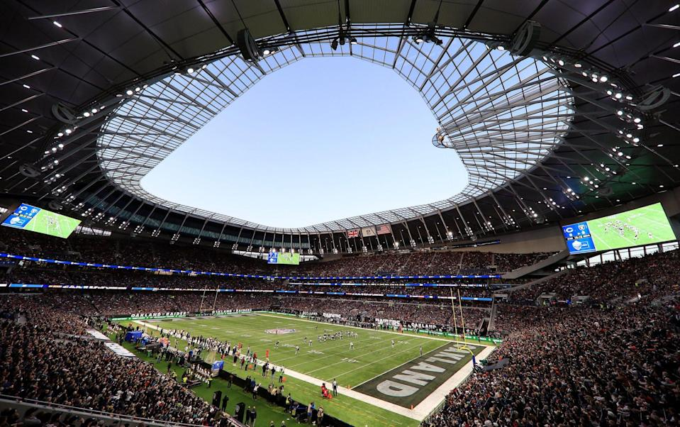 Chicago Bears take on Oakland Raiders at the Tottenham Hotspur Stadium - GETTY IMAGES
