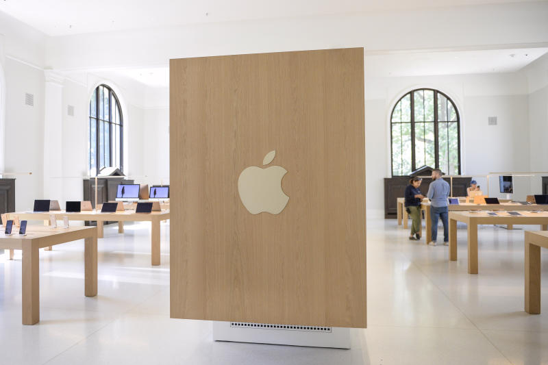 UNITED STATES - AUGUST 21: The Apple Store inside the Carnegie Library is pictured in Washington on Wednesday August 21, 2019. (Photo by Caroline Brehman/CQ-Roll Call, Inc via Getty Images)