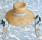 "<p>sarahbraybermuda.com</p><p><strong>$35.00</strong></p><p><a href=""https://sarahbraybermuda.com/collections/frontpage/products/bougainvillea-sun-hat"" rel=""nofollow noopener"" target=""_blank"" data-ylk=""slk:Shop Now"" class=""link rapid-noclick-resp"">Shop Now</a></p><p>Lightweight and delicately woven seagrass hat 👒The crown is easily malleable to create your desired style. We recommend using any household steamer to shape the top of the crown to pop-out or curve slightly inward, depending on your style preference.Brass grommets on each side designed for easily interchanging ribbons.Hat Height: 7 in. / 17.8 cm.Circumference: 24.5 in. / 62.2 cm.Hat Brim Width: 5 in. / 12.7 cm..Each hat comes with three solid-colored grosgrain ribbons: Our signature Pink Sand, Bermuda Blue, and Hibiscus Red ribbons. So you can swap them in and out to create your own looks!</p>"
