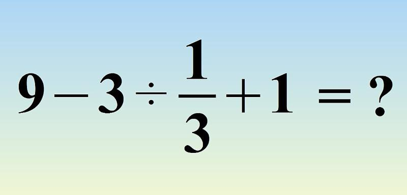 A lot of people are having trouble with this math problem that requires some basic algebra