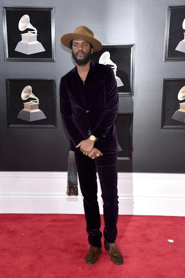 <p>Gary Clark Jr. attends the 60th Annual Grammy Awards at Madison Square Garden in New York on Jan. 28, 2018. (Photo: John Shearer/Getty Images) </p>
