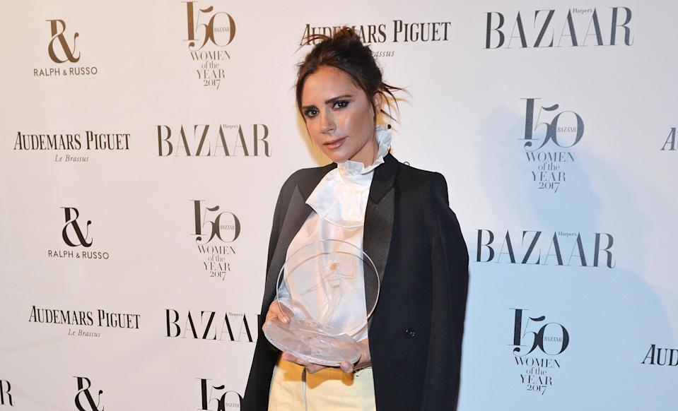 Victoria Beckham has unwittingly sparked a parenting debate about gender stereotyping [Photo: Getty]