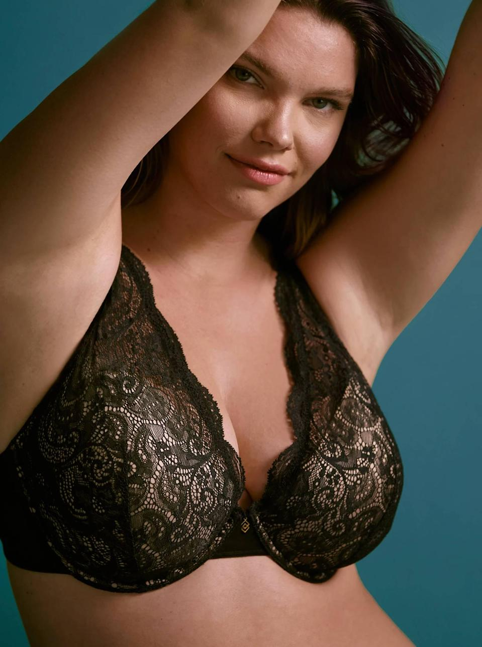 "<p><strong>Key selling points:</strong> With a size range from AA-I, including half-cup sizes, this lacy plunge bra offers four shade options and fully customizable support with removable pads.</p> <p><strong>What customers say:</strong> ""I bought a couple of kits for a complete intimate drawer overhaul. For me, this bra was the best of the best. It was the sexiest, with the lace, but it surprised me as also being the most comfortable! The band felt oh-so-soft. I went on and bought another color!"" — <em>Amy, reviewer on</em> <a href=""https://cna.st/affiliate-link/74gALtHrcLQ8SvMqvBGFPocD5XxxH65dg4Ai1upFDrmHo3C9YXXZy5iFT4r6DiRm28sFVWD8m2ZBq9hSjaeGSqXTRZskPhNJAPFaYhqBtR57HVtiDq2yfxHrMvoAyku1cwegJE?cid=606b5602556b8d39a7ab1936"" rel=""nofollow noopener"" target=""_blank"" data-ylk=""slk:ThirdLove"" class=""link rapid-noclick-resp""><em>ThirdLove</em></a></p> $70, ThirdLove. <a href=""https://www.thirdlove.com/products/24-7-lace-contour-plunge-bra-black"" rel=""nofollow noopener"" target=""_blank"" data-ylk=""slk:Get it now!"" class=""link rapid-noclick-resp"">Get it now!</a>"