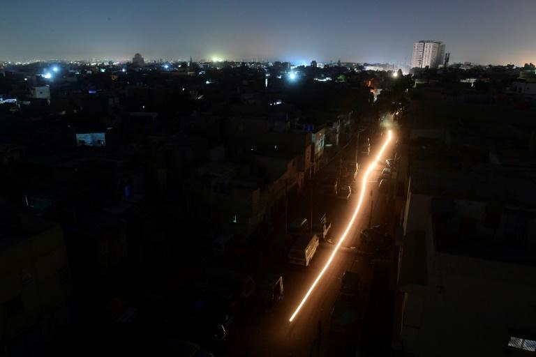 The blackout in Pakistan plunged much of the country, including its economic hub Karachi, into darkness