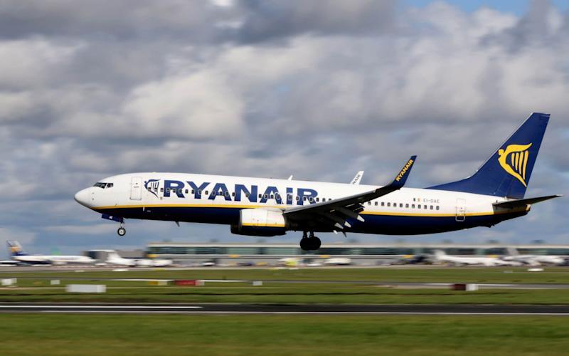 Pilots directly employed by Ryanair at its Dublin base have voted in favour of strike action - AFP