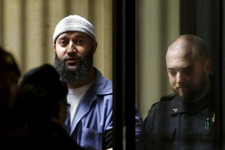 FILE PHOTO:  Convicted murderer Adnan Syed leaves the Baltimore City Circuit Courthouse in Baltimore, Maryland February 5, 2016. REUTERS/Carlos Barria