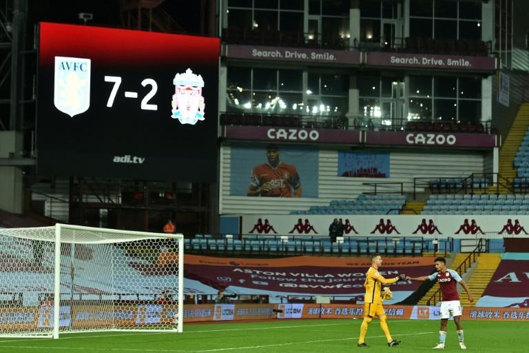 Liverpool's 7-2 thrashing at Aston Villa is one of many remarkable results early in the 2020/21 season