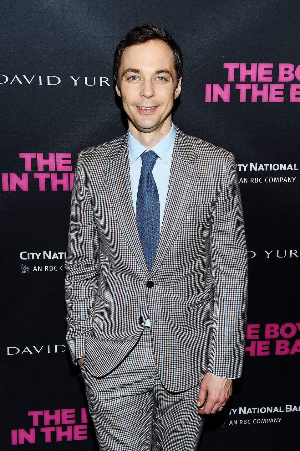"""<p>Jim Parsons of <em>T</em><em>he</em> <em>Big Bang Theory </em>was a member of the <a href=""""https://www.pikes.org/about-pike/prominent-pikes"""" rel=""""nofollow noopener"""" target=""""_blank"""" data-ylk=""""slk:Phi Kappa Alpha fraternity or &quot;Pike.&quot;"""" class=""""link rapid-noclick-resp"""">Phi Kappa Alpha fraternity or """"Pike.""""</a> The actor pledged the chapter at the University of Houston. </p>"""