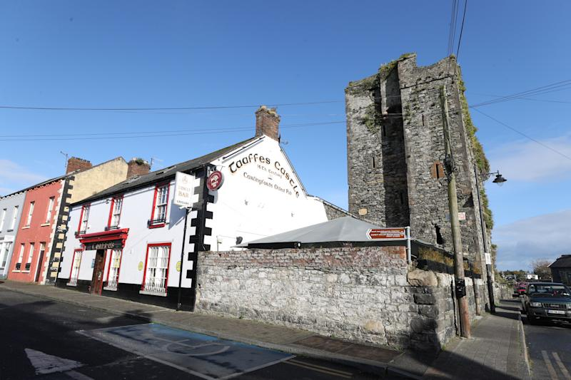 "Taaffes Castle Bar, Carlingford, Co Louth whose manger Aisling Johnston, Manager said the picturesque border town has been ""hollowed into a shell"" by coronavirus and Brexit."