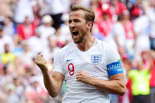 Harry Kane has now scored five times at this World Cup (AFP Photo/Martin BERNETTI)