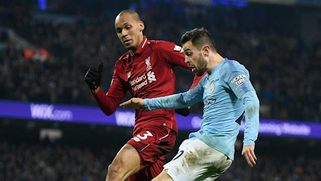 Liverpool know the value of beating Manchester City but key man Fabinho remains hesitant about overstating the occasion.