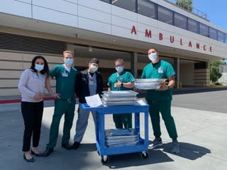 Best Coast Burrito has helped deliver meals to health care workers through partnerships like the one they have with Nigam. (Photo: Alvin Shen)