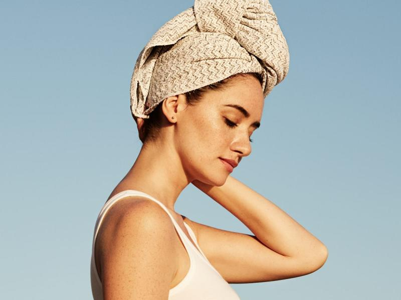 Rapid Dry Hair Turban (PHOTO: AQUIS Facebook page)