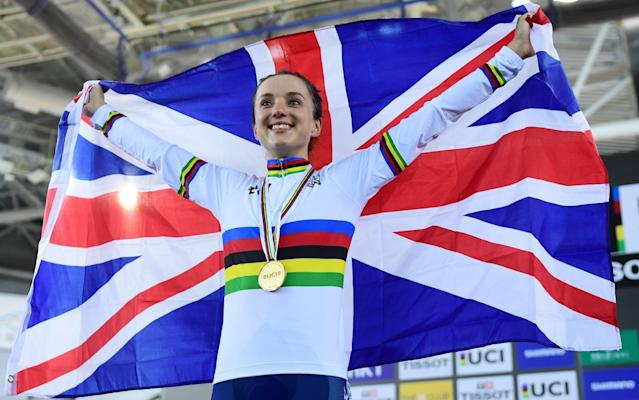 <span>Elinor Barker won the points title at the Track Cycling World Championships</span> <span>Credit: REX FEATURES </span>