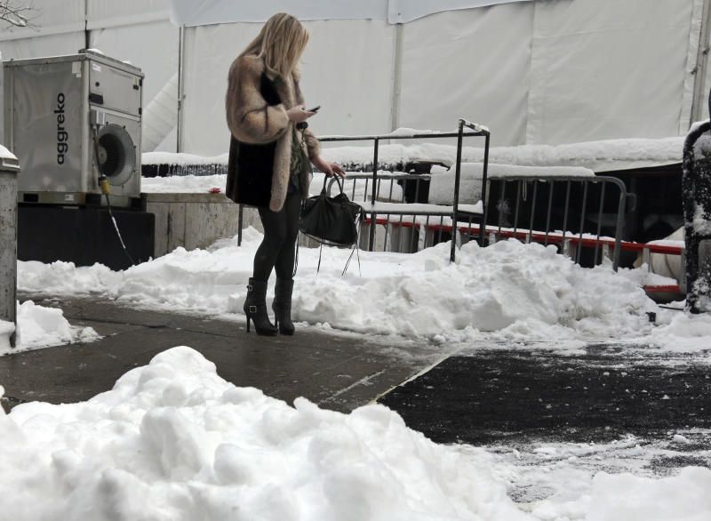 Alone, together: Snowed in, in the age of hashtags