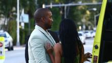 Kanye West Carries Kim Kardashian to the Car After Romantic Outing to 2 Chainz's Wedding