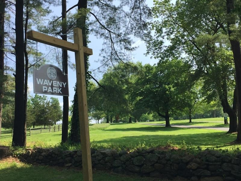 The Water Tower turf fields at Waveny Park will be monitored from 9 a.m. to 7 p.m. on Sunday when they reopen for small-group recreational activities.