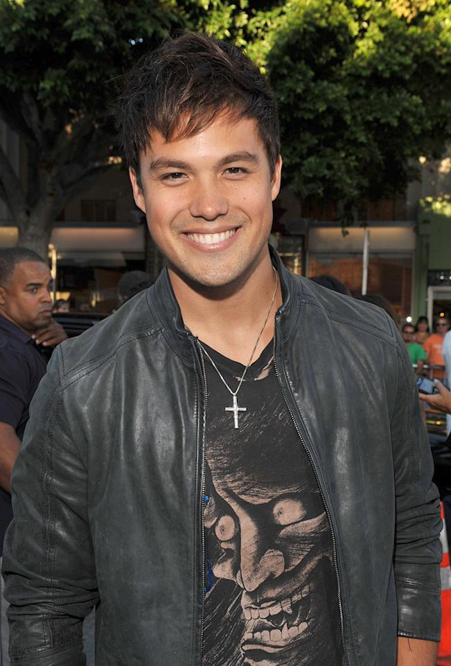 """<a href=""""http://movies.yahoo.com/movie/contributor/1808668544"""">Michael Copon</a> at the Los Angeles premiere of <a href=""""http://movies.yahoo.com/movie/1809839458/info"""">Whiteout</a> - 09/09/2009"""