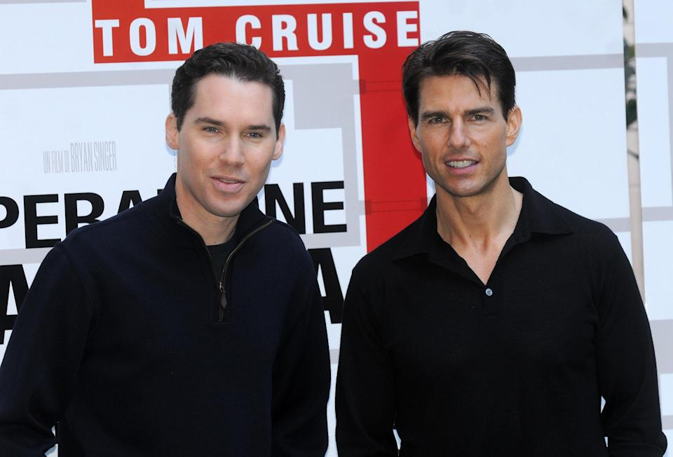 ITALY – JANUARY 28: . director Bryan Singer and actor Tom Cruise . U.S. actor Tom Cruise attends a photocall to promote his latest movie 'Valkyrie' in Rome, Italy on January 28, 2009 (Photo by Eric VANDEVILLE/Gamma-Rapho via Getty Images)