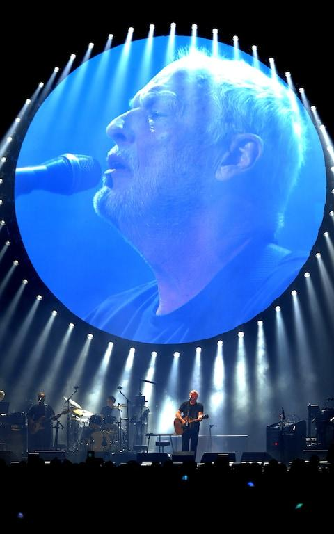 David Gilmour performs at the Royal Albert Hall - Credit: STEVE GILLETT / LIVEPIX/STEVE GILLETT / LIVEPIX