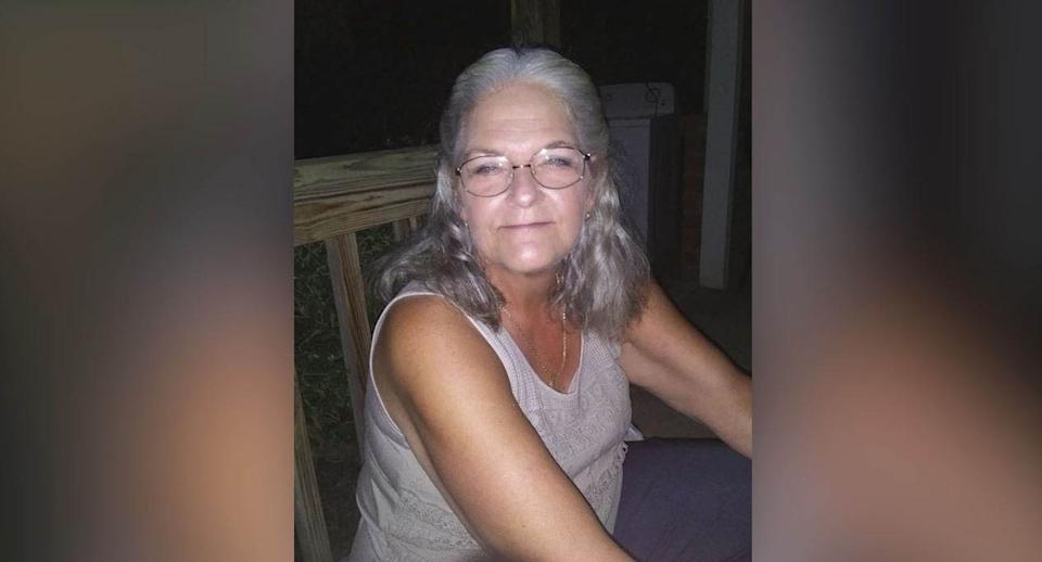 Linda Almond's body was identified by her sister a day after the harrowing Facebook Live clip was posted. Source: ABC8 News courtesy of Almond family