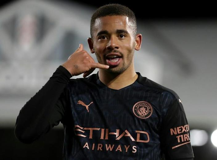 Time to call the title race? Gabriel Jesus scored in Manchester City's 3-0 win at Fulham to remain 14 points clear at the top of the Premier League