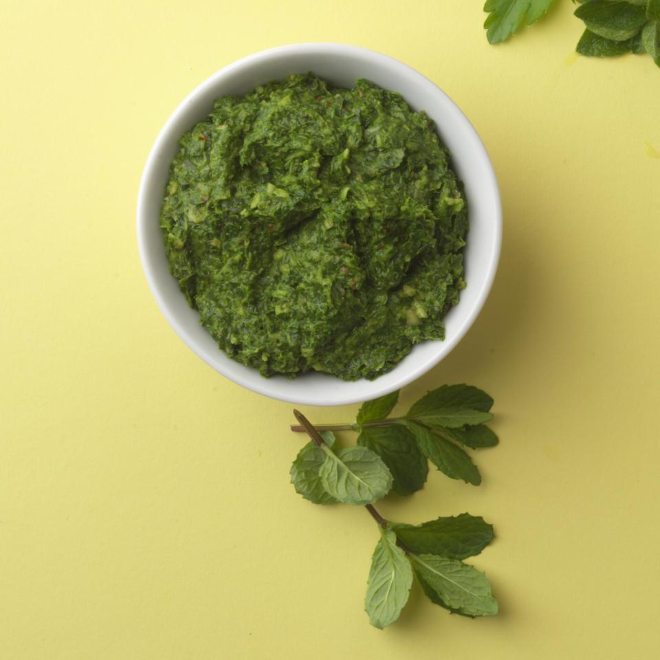 """<p>Since pesto is a """"raw"""" sauce, the flavor of the olive oil is crucial to its success. Use the best first-cold-pressed extra-virgin olive oil you can comfortably afford.</p>"""