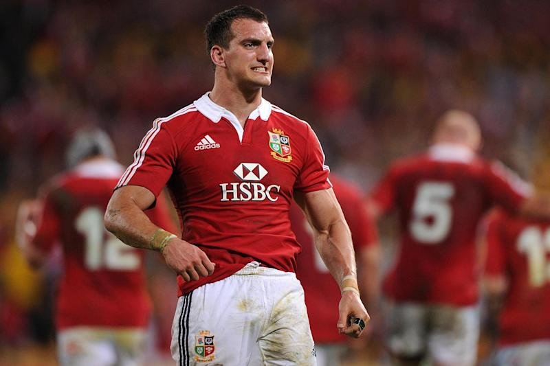 Driving force: Sam Warburton during the Lions' victorious tour of Australia in 2013