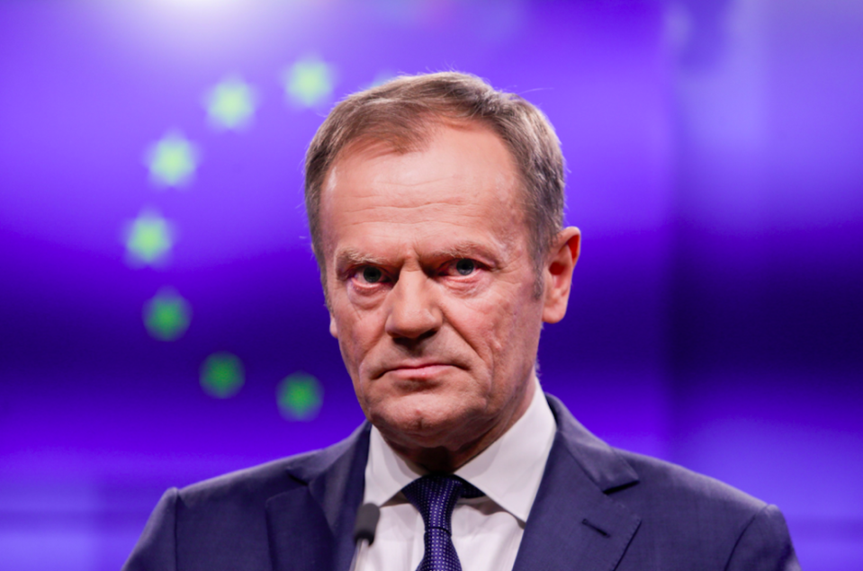 <em>Donald Tusk has signalled the EU will be open to a long extension to Article 50 (Getty)</em>