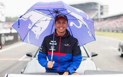 Alex Albon of Scuderia Toro Rosso and Thailand during the F1 Grand Prix of Germany at Hockenheimring on July 28, 2019 in Hockenheim, Germany. - Credit: Getty Images Europe