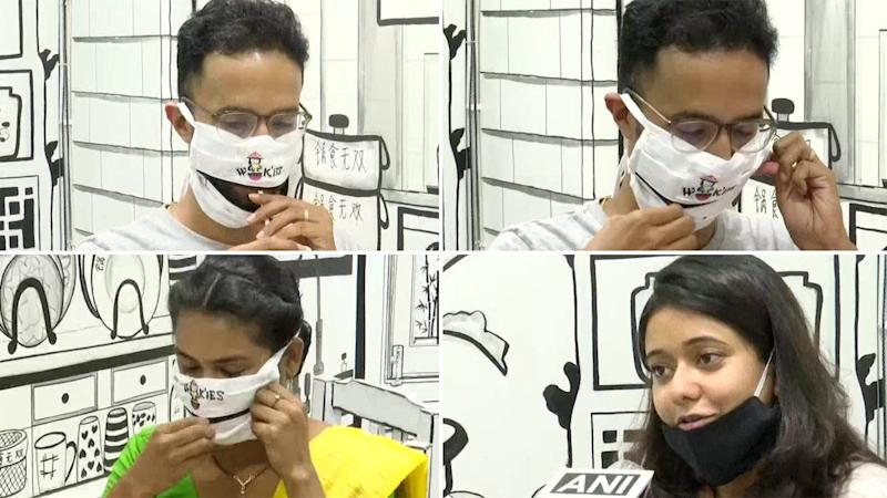 FREE Masks with Zippers for People Dining at This Kolkata Restaurant Is Grabbing Eyeballs Online! Pics of the 'New Normal' Practice amid the Coronavirus Pandemic Goes Viral
