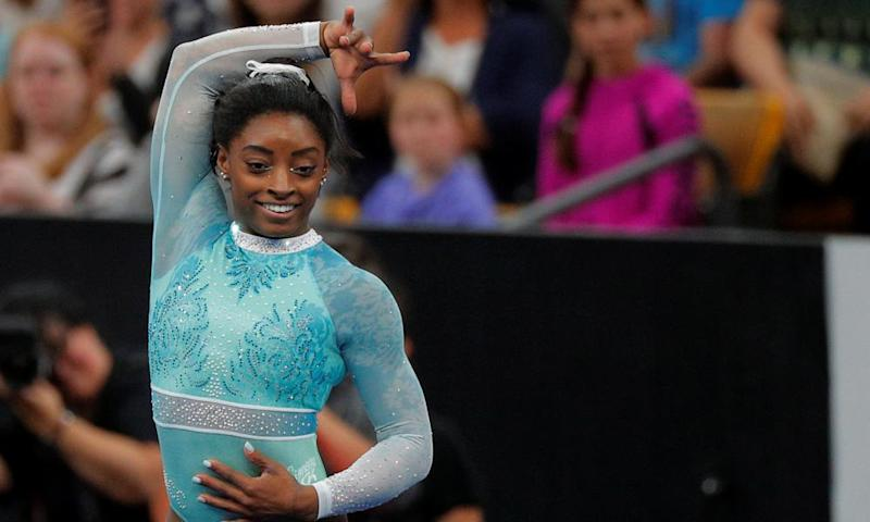 Simone Biles was critical of the short-lived presidency of Mary Bono